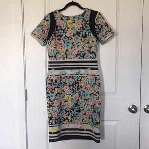 Eci floral dress